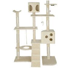 Rascador para gatos Árbol para gatos Sisal Juguetes 167cm