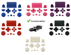 PS4 Controller Knöpfe Tasten Modding Button Set Ersatz Analog Stick JDM 040-055