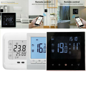 3 Type LCD Digital WiFi Thermostat Floor Wall Heating Temperature Controller
