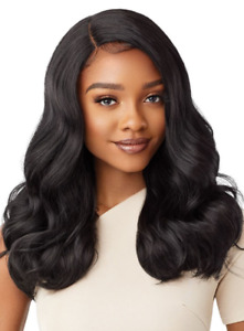 Outre Synthetic Swiss HD Lace Front Wig ZEPHANY -- Colour Chocolate