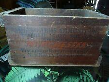 Winchester Ammunition Box, crate.