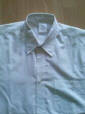 *Camisa Chico Blanca Talla M Lisa con bolsillo