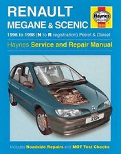 Haynes Owners + Workshop Car Manual Renault Megane + Scenic Petrol + Diesel 3395