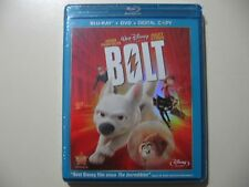 Bolt (Blu-ray/DVD combo pack, from Walt Disney) Brand New and Sealed