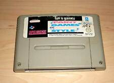 Super Nintendo Spiel SNES Game Paint Games Music Style - Fun 'n Games