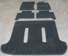 Car Mats in Black to fit Toyota Land Cruiser (LC - 2003 on) + Boot Mat