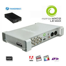 Matrox MXO2 LE Max I/O-Box mit Thunderbolt schneller Encoder H.264 MP4 HD-SDI
