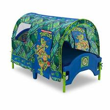 Children Toddler Tent Bed Teenage Mutant Ninja Turtles Crib & Toddler Mattress