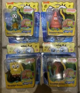 SpongeBob Slimeez Figure Set Squidward Gary Patrick Spongebob With Slime