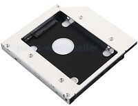 2nd Hard Disk Drive HDD SSD SATA Caddy Adapter for Acer Aspire V3-551G V3-571G