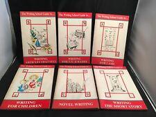 The Writing School Guide to … Six Books Writing Set: Novel / Short Story / TV ++