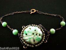 Antique / Vintage Chinese Jade Bead Bracelet