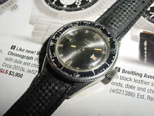 Vintage EBERHARD Scafograf 500m DIVER automatic ladies watch [rare]