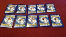 Pokemon Sun and Moon Fairy Energy Card Lot of 10