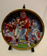 """Joe Montana """"THE NFL Superstar Collector Plate Series By Sports Impressions"""""""
