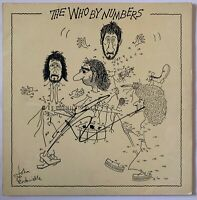 """PETE TOWNSHEND HAND SIGNED 12"""" VINYL - THE WHO - THE WHO BY NUMBERS."""