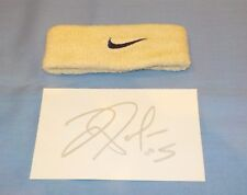UTEP Miners Jordan Palmer Game Used Worn Wristband Signed Index Card