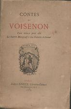 Contes de VOISENON.Liseux 1879.Tant mieux pour Elle.Sultan Misapouf.La Navette