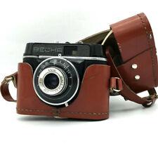 Soviet Vesna Vintage Film Camera 35 mm Triplet-22 Lens 24x32 Rare USSR Case Old