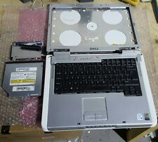 DELL INSPIRON 6400 PLASTICS BASE, PALMREST, TOP LID/BEZEL, DVDRW & UK KEYBOARD