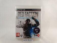 RED FACTION ARMAGEDDON SONY PS3 PLAYSTATION 3 PAL ITA ITALIANO NUOVO SIGILLATO