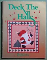 Deck the Halls quilt pattern book Possibilities Christmas holiday decor crafts