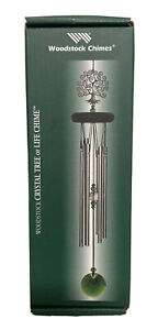 """WOODSTOCK CHIMES Crystal Tree of Life Chime WFTE 19"""""""