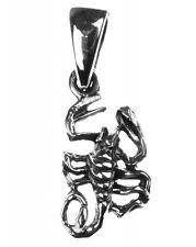 925 ECHT SILBER *** Skorpion Anhänger 15 mm