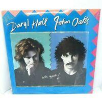 Daryl Hall John Oates Hall & Oates Ooh Yeah! Vinyl LP Artista Records 1988