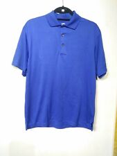 Top Flite Blue Athletic Polo Size S/Ch