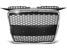 NEW FRONT GRILL GRAU25 AUDI A3 HATCHBACK 2005 2006 2007 2008 RS-TYPE CHROME