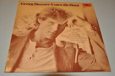 Georg DANZER-bajo la piel-alemán 70er 80er-álbum disco de vinilo LP