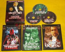 I GIGANTI DEL BRIVIDO VINCENT PRICE DVD - Cofanetto 3 Film »»»»» USATO