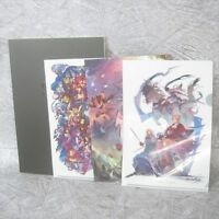 CYGAMES CREATORS BOOK w/Folder Art Illustration Book Ltd