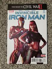 Invincible Iron Man #7 2nd Print Marvel High Grade
