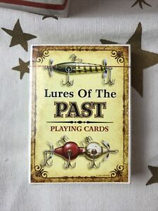 Rivers Edge 1500 Lures Of The Past Playing Cards New Pack Of 54 Cards