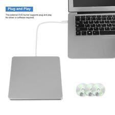Type C Usb-C Slim External Dvd Cd Writer Drive Burner Reader Player For Laptop J