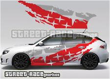 Subaru Impreza Rally Touring car 013 Cusco style graphics stickers decals