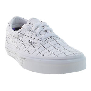 Vans Era U-Color Checkerboard-True White Men's size 6 Women's 7.5.
