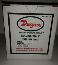 Dwyer Magnehelic Differential Pressure Gauge 2000-0 R-G