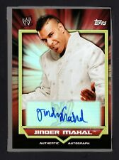 2011 Topps WWE Classic Autographs #NNO Jinder Mahal HTF 109
