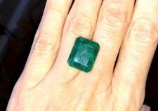Natural Colombian Emerald • 9.05 Ct • Emerald Cut Loose Gemstone • Stone #3