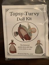 Topsy-Turvy Doll Making Kit New #4716 Historical Folk Toys