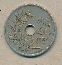 België/Belgique 25 ct. Leopold II 1909 Fr Morin 256 (134814)