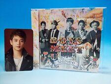 CD+Minho Photo Card SHINee BOYS MEET U Japan Album Minho