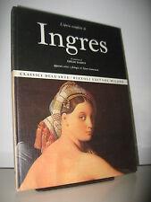 INGRES - OPERA COMPLETA RIZZOLI CLASSICI DELL'ARTE 1968
