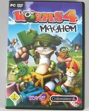 Worms 4 IV Mayhem PC ★Deutsch★ Team 17 in Original BOX