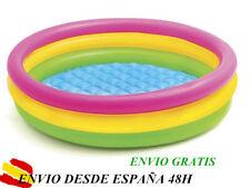 Intex piscina hinchable para niños x Ø114 x 25 cm altura + parche reparacion