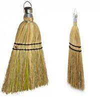12 Abco 00300-12 100/% Corn Whisk Brooms w Double Sewn Hem