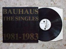 BAUHAUS - THE SINGLES 1981-1983 - LP 1983 ORIGINAL Uk press VG++/VG+ murphy cure